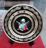 纯铜纪念牌厂家 西安老兵退伍礼品 光荣退役纪念牌