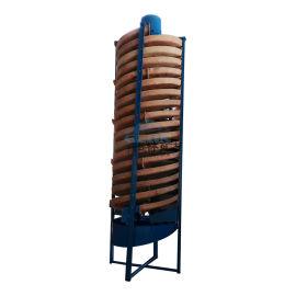 洗矿设备试验螺旋溜槽 洗矿小型螺旋溜槽