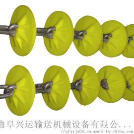 环型管链机 管链上料输送机 六九重工 自动上料管链