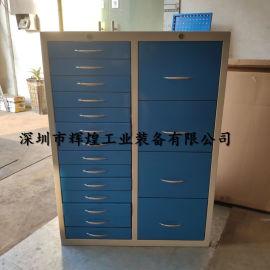 双组工具柜 层板钳工工具柜 重型抽屉工具柜