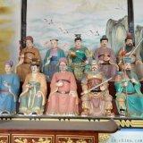 六十甲子 道教神像玻璃钢六十花甲 60元辰雕塑