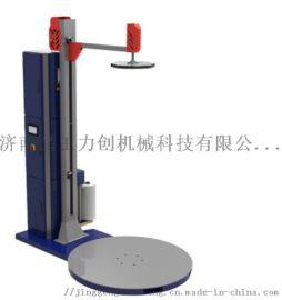济南晶工力创JG-C02全自动托盘式预拉伸压顶缠绕机