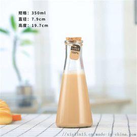 玻璃瓶生产厂家冷泡茶饮料瓶