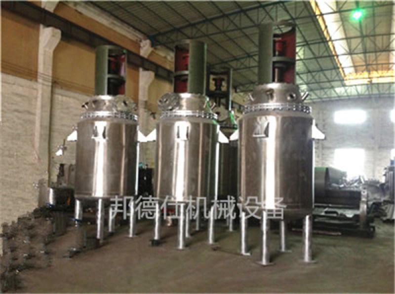 供应广东500L不锈钢反应釜 PU树脂反应釜