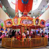 新型戶外B類遊樂場設施大型豪華玻璃鋼旋轉木馬