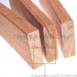 南美菠萝格原木 户外实木地板 防腐木板材