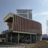 形象墙造型铝方通,墙体弧形铝方通,铝方通加工工厂