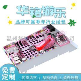 新款网红蹦床公园室内乐园儿童游乐设备室内成人蹦床