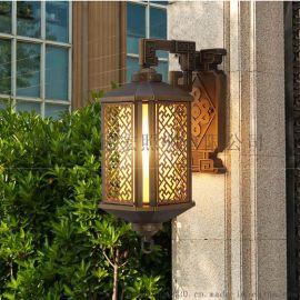 户外防水全铝壁灯 锦宏壁灯 手工拉丝壁灯