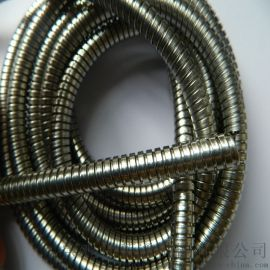 电厂专用不锈钢金属软管  不包塑双扣蛇皮管