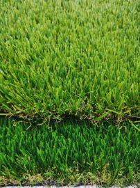 出口品质 直曲四色休闲景观 人造草坪