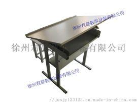 供应君晟JS-Z6型**款全钢制折叠绘图桌