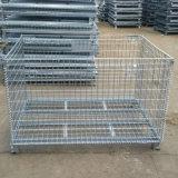 折叠式金屬周轉箱倉儲籠欧式网箱
