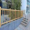 金屬仿木紋鋁護欄 仿竹節鋁合金護欄廠家
