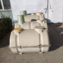 养殖场化粪池罐生产玻璃钢三格式压力罐