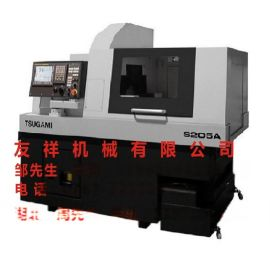 日本津上车床 S205A 走心机 CNC精密自动车床 CNC刀塔车床