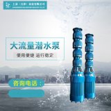 水利工程取水大排量潛水泵製造銷售