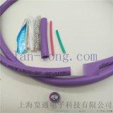 紫色雙絞通訊電纜dp 2*0.65