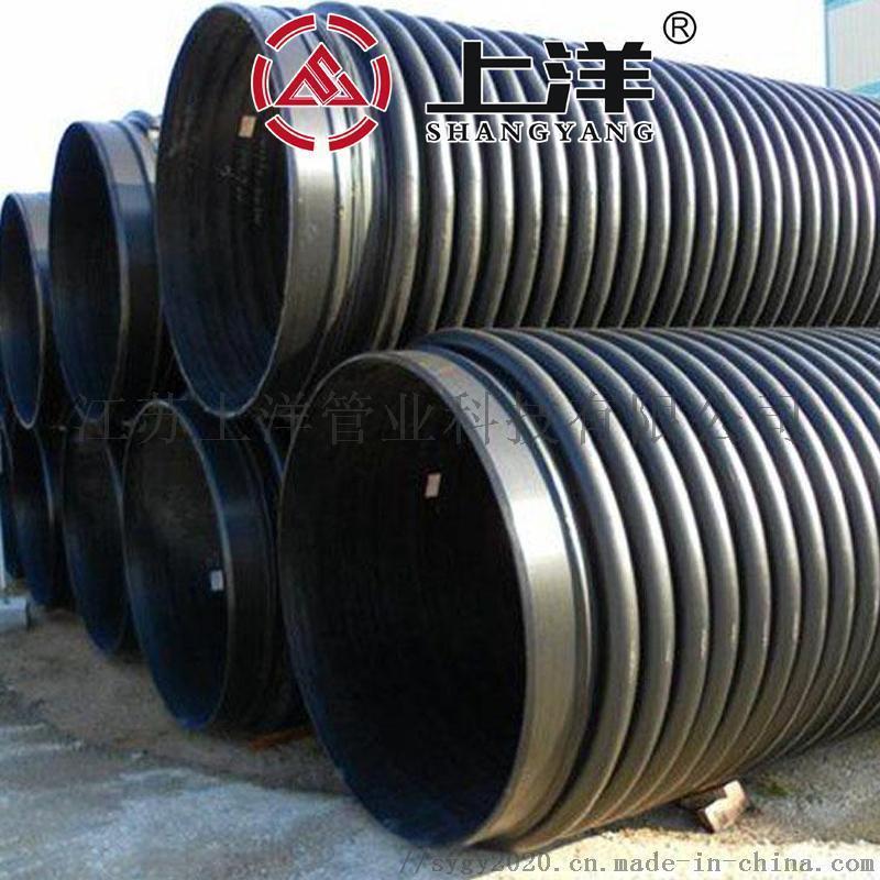 郑州克拉管300报价开封hdpe双壁缠绕管B管厂家