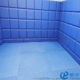 橡胶地板宣泄室墙地板软装系列套装