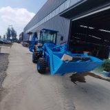 液压轮式两头忙 多功能挖掘装载机 铲挖一体机