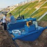 自走式现浇水渠成型机 农田水渠一次成型机