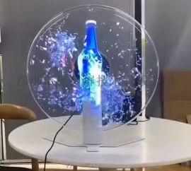 深圳市43尺寸台式3D裸眼风扇屏
