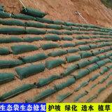 土工布袋, 新疆护坡绿化袋