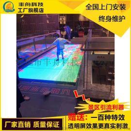 3d玻璃栈道碎裂**LED屏景区吊桥破碎网红互动屏
