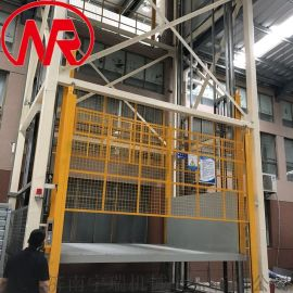 外接电源升降货梯 仓库货梯 仓储物流升降机