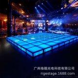 蹦迪KTV无噪音玻璃舞台 地颤舞台 发光
