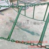 爬架训练软梯 消防铁链梯 焊接梯高强镀锌