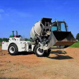 水泥搅拌罐车 自上料运输搅拌车 工地运输车