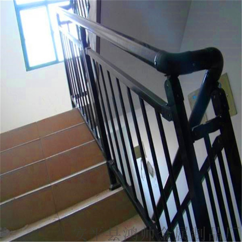 学校锌钢楼梯扶手定做