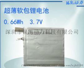 **聚合物电池178mAh 3.7V 软包