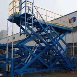 适用于汽车升降机汽车电梯定制百色市简易升降台