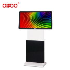 OBOO43寸旋转式液晶高清广告机多功能广告宣传屏