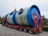 河南玻璃钢一体化预制泵站生产商 厂家定制