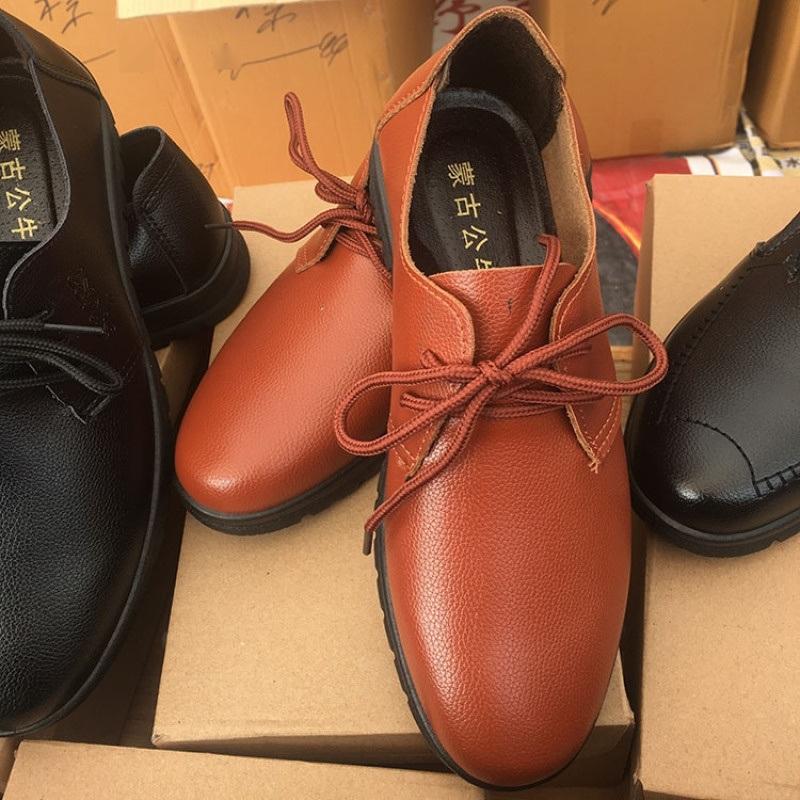 刮不坏砸不烂商务皮鞋49元模式地摊江湖爆款价格