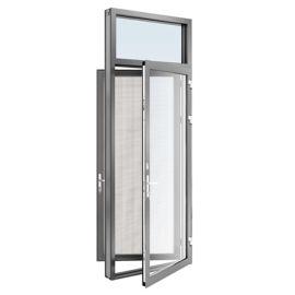 160隔热双平开门带纱扇帕克斯顿门窗系统