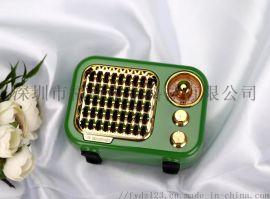 R919彩色蓝牙音箱 重低音炮音响插卡FM收音机