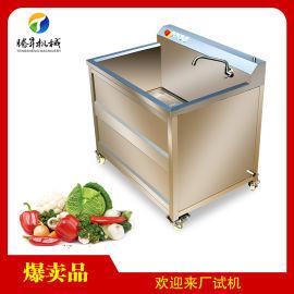 超声波气泡洗菜机 瓜果蔬菜清洗机
