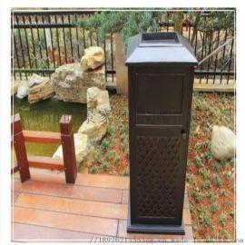 垃圾桶 广州时景户外时尚钢铝垃圾桶