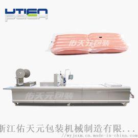 香肠热成型真空包装机,食品全自动拉伸膜真空包装机