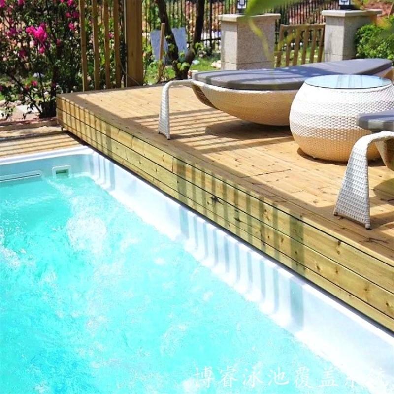 博睿泳池蓋   泳池蓋廠家  自動安全保溫蓋