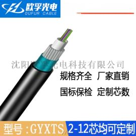 GYXTS光缆 GYXTS中心束管钢丝铠装光缆