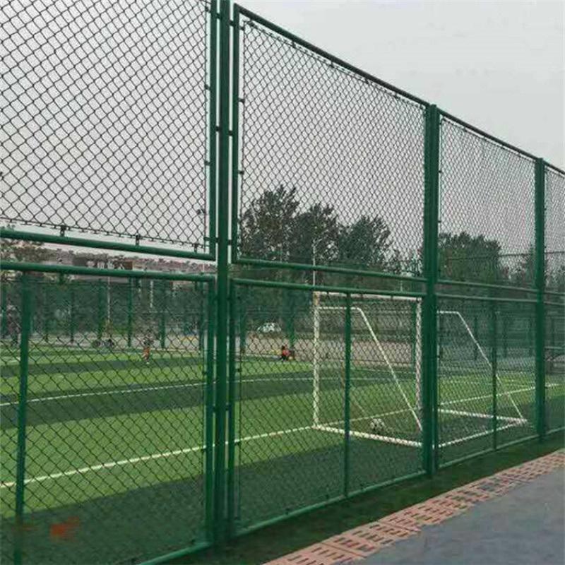 籃球場圍欄網 鍍鋅防撞勾花網 場地隔離網 高強度安全球場圍欄 籃球場護欄網 鐵絲防護網