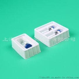 厂家定制药品瓶吸塑包装塑料托盘医用消毒透明内托盘