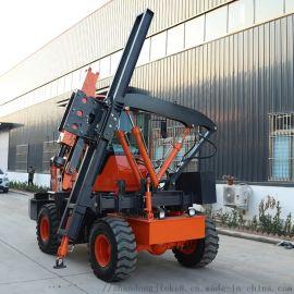 捷克 全液压打桩机 厂家供应936型高速护栏打桩机