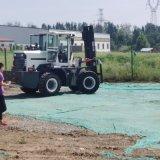 内燃柴油四驱3吨越野叉车 5吨可改装工程液压叉车